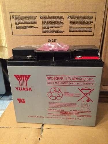 Bateria Yuasa-npx 80rfr 12v 20ah en Web Electro