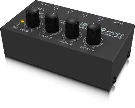 Behringer Amplificador Para Auriculares Ha400
