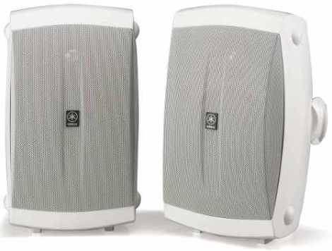 Bocinas Para Exterior Sonido Ambiental Yamaha Nsaw350
