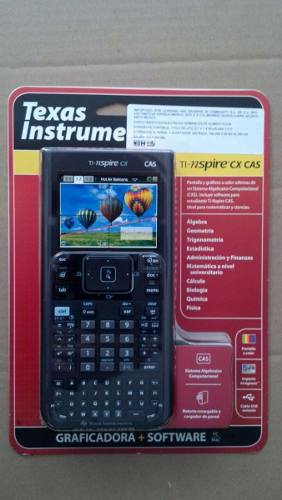 Calculadora Texas Instruments Ti-nspire Cx Cas
