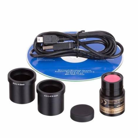 Cámara Digital Para Microscopio Compatible Windows Amscope en Web Electro