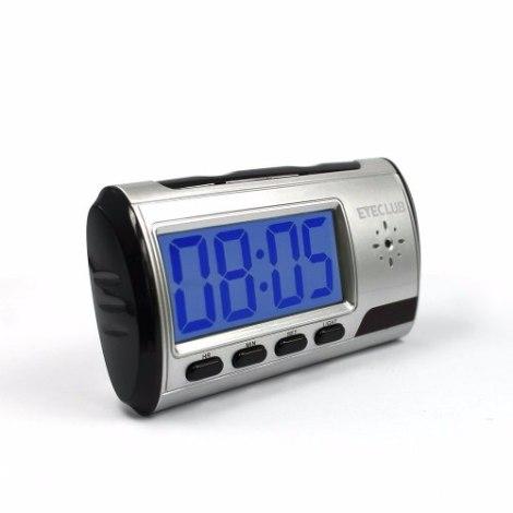 Camara Espia Seguridad Reloj Despertador Eyeclub en Web Electro