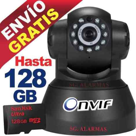 Camara Ip Inalambrica Wifi Vigila Por Internet Video Audio en Web Electro
