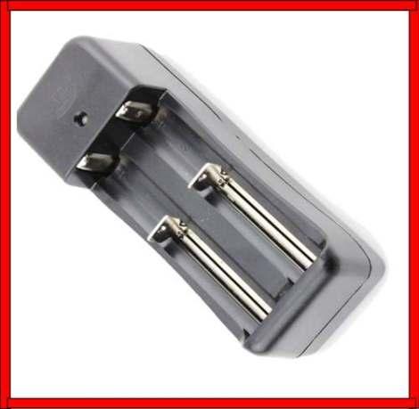 Cargador Universal Baterías 14500 18650 16340 Cr123 Doble