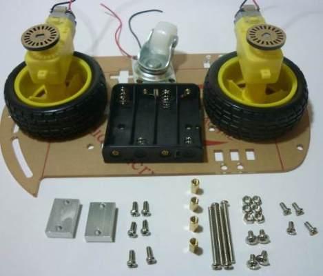 Chasis Robot Seguidor Avr Atmega Pic Arduino Encoder en Web Electro