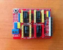 Cnc Shield Grbl Impresora 3d Driver Drv8825 Motor Pasos en Web Electro