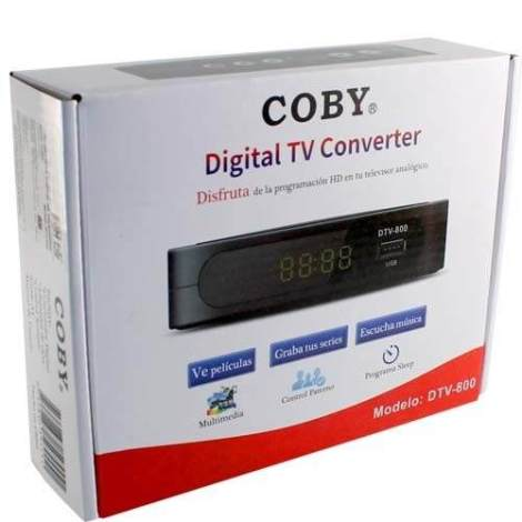 Codificador Señal Digital Coby Para Canales Hd