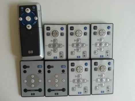 Control Remoto P/proyector Hp Varios Modelos/versiones en Web Electro