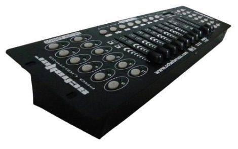 Controlador Dmx 512 Luz Disco Led 16 Canales Schalter en Web Electro