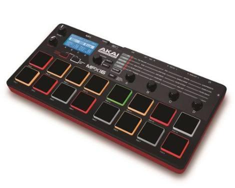 Controlador Grabadora Sampler De Pads Akai Mpx16 en Web Electro
