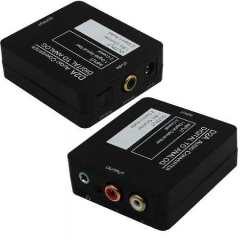 Convertidor Audio Digital Con Cable Toslink Optico Rca 3.5