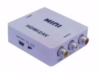 Convertidor Hdmi A Rca Video Y Audio Tv Pc Consolas Y Mas en Web Electro