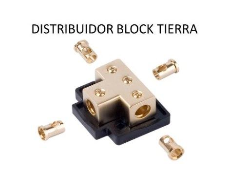Distribuidor Block Cal.4 Tierra-corriente Xscorpion Tb4444 en Web Electro