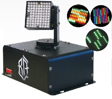 Luz Disco Led Cabeza Movil Dmx Automatico Digital Wash 7006 en Web Electro