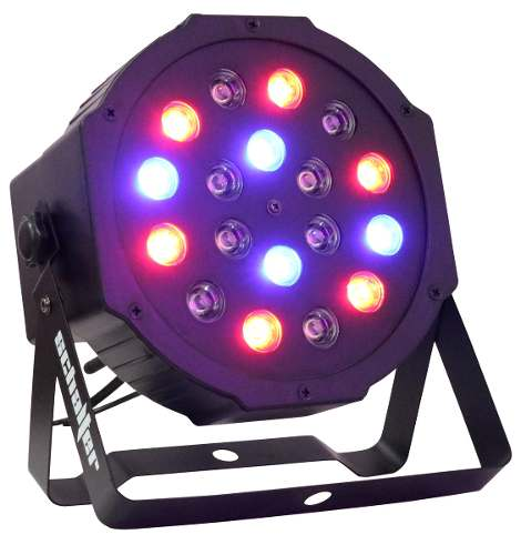 Luz Disco Par 64 18x1w Hyper Leds Dmx Alta Luminosidad en Web Electro