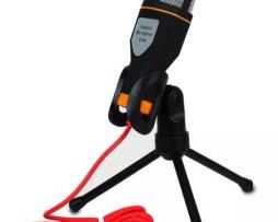 Microfono Condensador Plug Semiprofesional Con Envio Gratis
