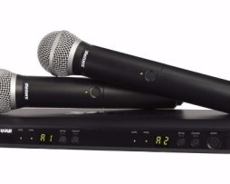 Microfono Inalambrico Doble Mano Uhf Shure Blx Blx288 Pg58
