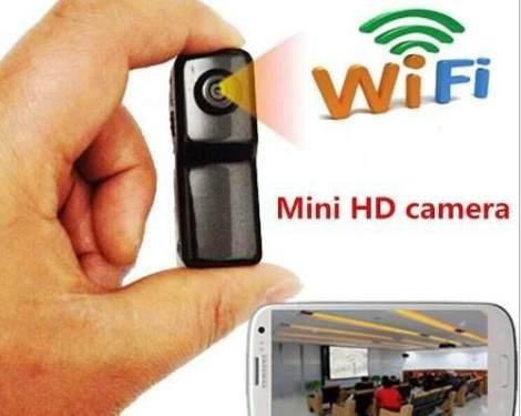 Mini Camara Ip Wifi Md81 Vigilancia Desde Iphone Y Android en Web Electro