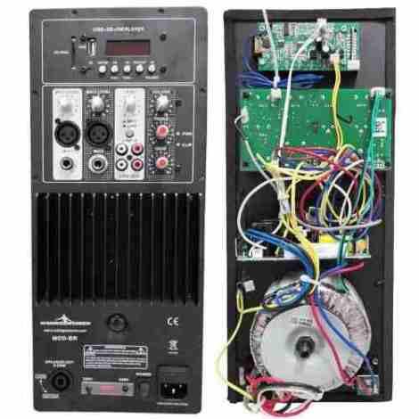Modulo Bi Amplificado Bluetooth 250w Rms Rockolas O Bafles en Web Electro