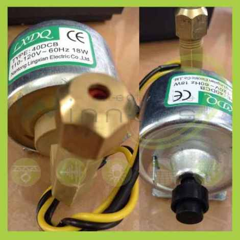 Motor Bomba Para Maquina /humo 110-120v.-electrónica Winners