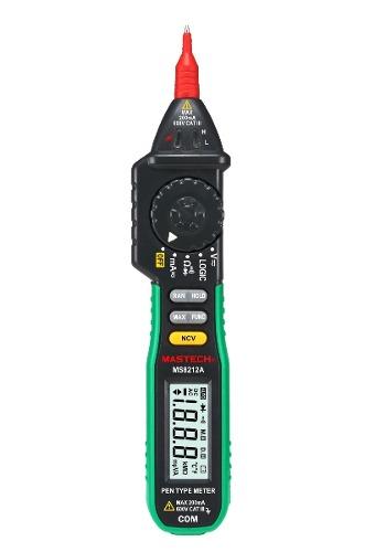 Multimetro Mastech Ms8212a Punta Logica Detector De Voltaje en Web Electro
