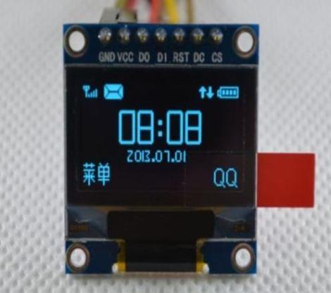 Pantalla Tecnología Oled 0.96  Serial Lcd Para Arduino en Web Electro