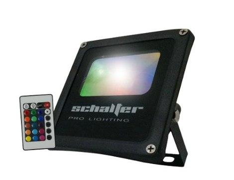 Par 64 Rectangular Reflector Led 25w Rgb Colores Contra Agua en Web Electro