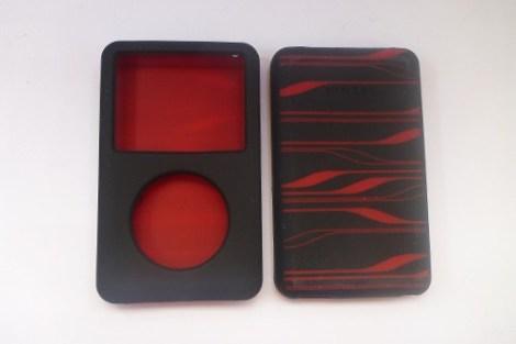 Protector Belkin Silicon Negro Con Rojo Case Ipod Clasico en Web Electro