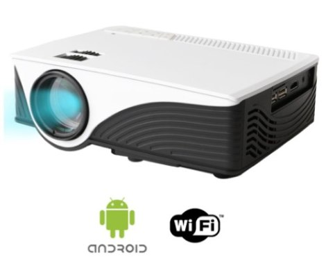 Proyector Led Profesional Smart Android  Wifi Full Hd Msi