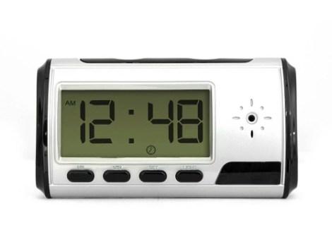 Reloj Despertador Espía Cámara Video Hd Audio Foto Micro Sd en Web Electro