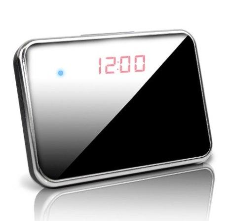 Reloj Espía Cámara Espejo Video Hd Micro Sd Graba Audio Foto