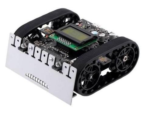Robot Mini Sumo 32u4 Pololu Ensamblado Con Motores 100:1 Hp en Web Electro