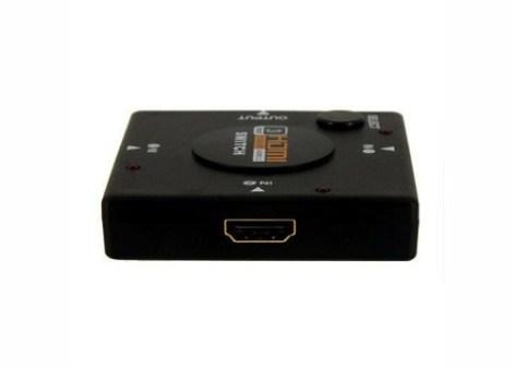 Selector Switch Hdmi 3 Puertos Splitter Para Hdtv