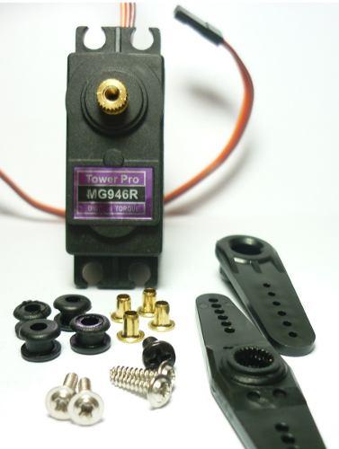 Servo 12kg Engranes Metalicos Mg946r Arduino Pic Robot en Web Electro