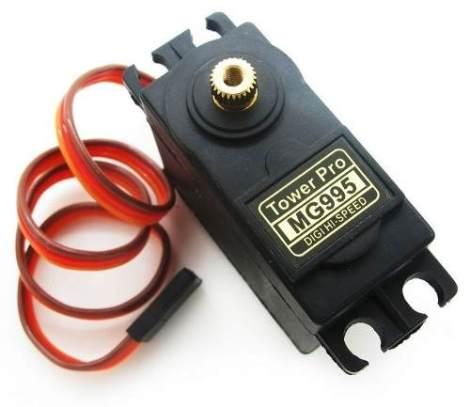 Servo Motor 15 Kg·cm Balero Metal Servomotor Pic Avr Arduino