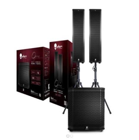 Sistema De Audio Alien Opera Sub 12 + 2 Torres 4×4 en Web Electro