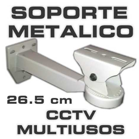 Soporte – Brazo Metalico Multiusos Cctv 26.5cm Hasta11kg Mn4