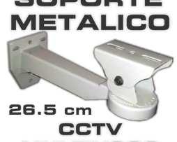 Soporte - Brazo Metalico Multiusos Cctv 26.5cm Hasta11kg Mn4