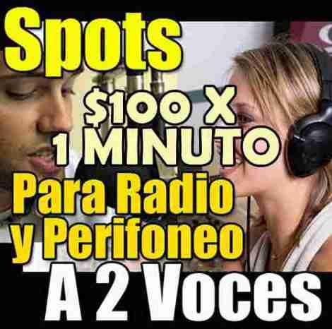 Spots Publicitarios Profesionales Para Perifoneo A 2 Voces en Web Electro