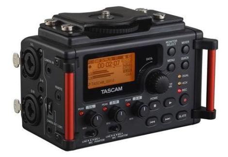 Tascam Dr-60d Mkii Grabadora De Audio Dslr Todo Video en Web Electro