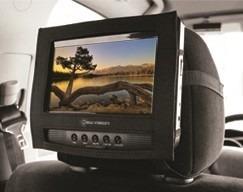 2 X Cabeceros Dual 7'' Con Dvd Portátil De Auto O Hogar