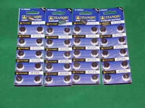 50 Pila Bateria Alcalina  Lr44/sr44/ag13/px76/357