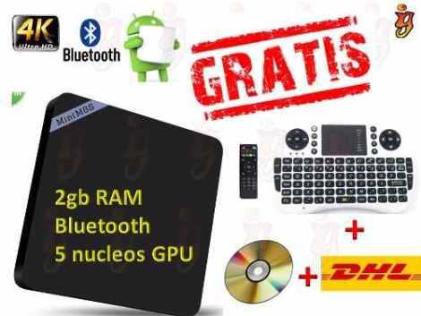 Android Tv 2 Gb Ram Mini M8s2 Original +teclado+envio Gratis en Web Electro