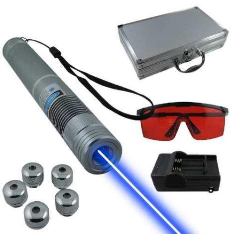 Apuntador Laser Azul 3000mw Revienta Globos Y Cigarros en Web Electro