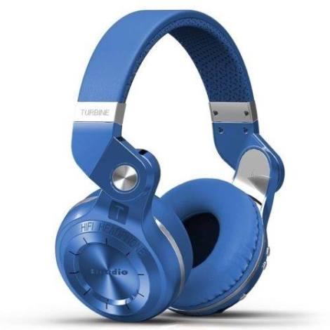Audífonos Bluetooth Bluedio T2 Manos Libres – Azul en Web Electro