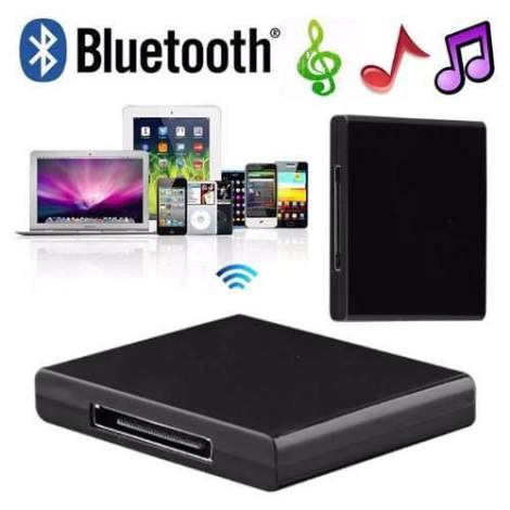 Bluetooth Receiver Receptor Con Dock De 30 Pin Bose Msi