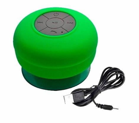 Bocina Bluetooth Impermeable Regadera Manos Libres en Web Electro