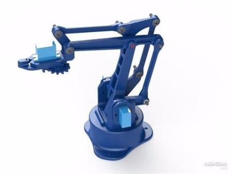 Brazo Robot Diy Incluye 4 Servos 100% Garantizado en Web Electro