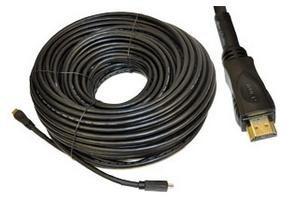 Cable Hdmi Para Alta Definicion Chapa De Oro 30 Metros en Web Electro