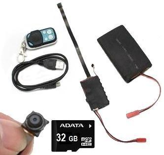 Camara Espia Full Hd 1080p 32gb Bateria 4000mah